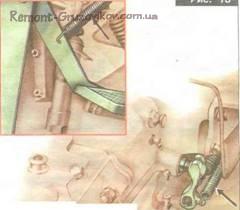 Ремонт привод выключения сцепления Камаза