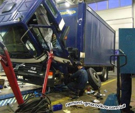 Ремонт грузовиков и автосервис грузовых автомобилей