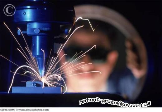 Применение лазерной сварки на нашем СТО