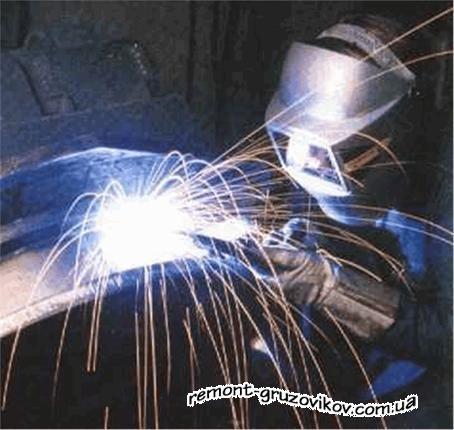 Аргонная сварка - качество, надежность, оперативность любых видов сварочных работ в Киеве на грузовом СТО ООО